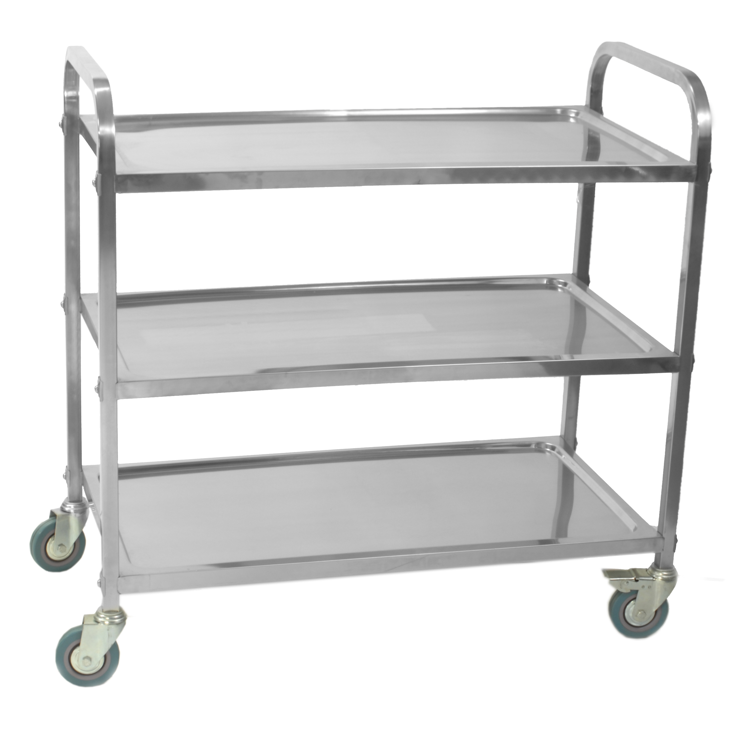 3 Tier Trolley 98x53x93 Black « HD Online Shop