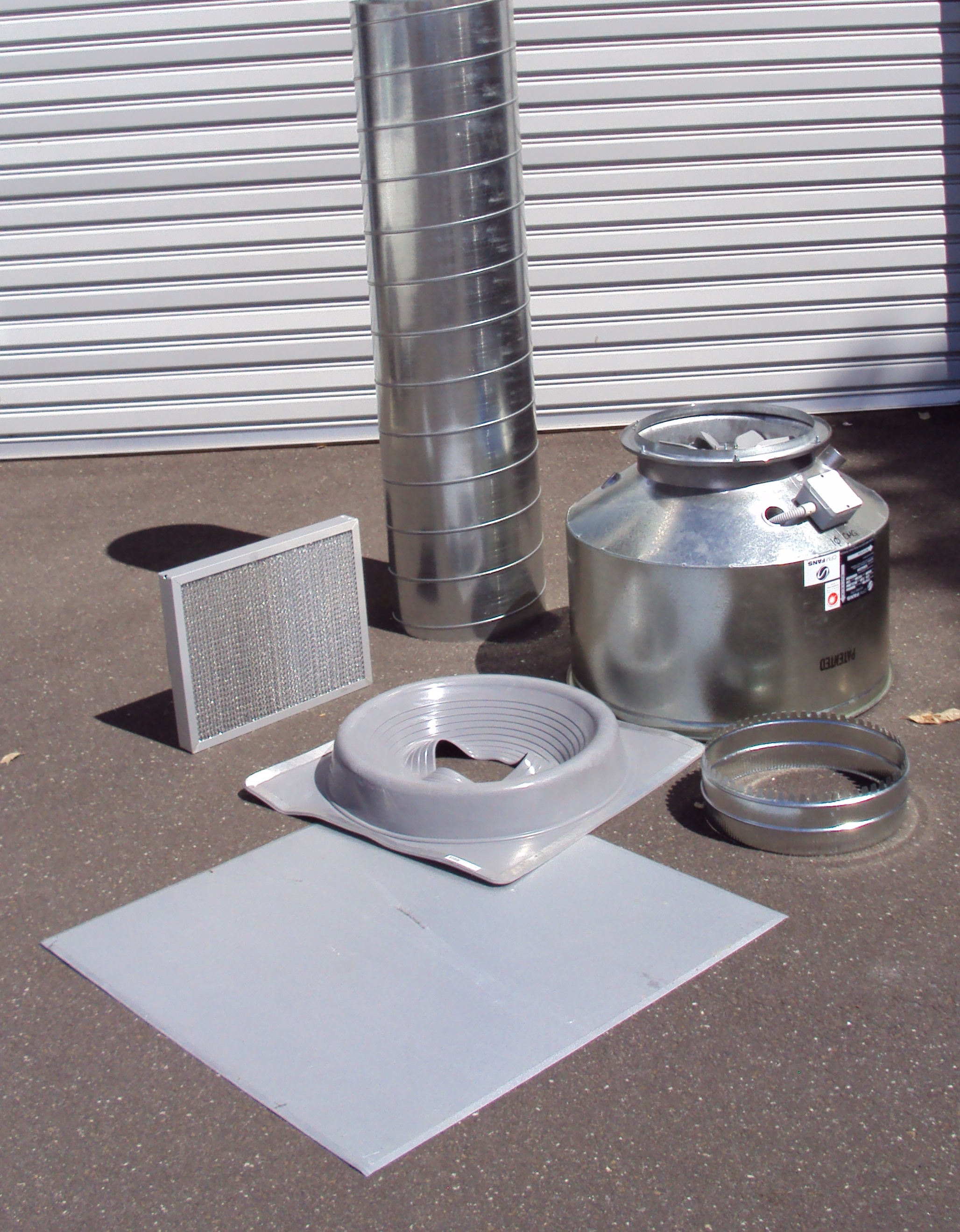 Exhaust canopy kit with duct filters and fan 2700 long HD line #1: canopy kit Hospitality Design mercial Kitchens